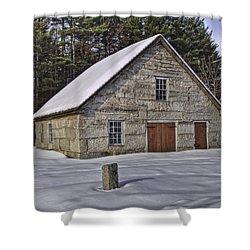 Granite House Shower Curtain