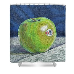 Granny Smith Shower Curtain by Robert Decker