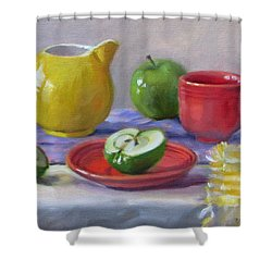 Granny Smiths Shower Curtain