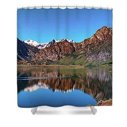Grant Lake Serenity June 2017 Shower Curtain