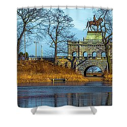 Grant Memorial Lincoln Park Dsc3218 Shower Curtain