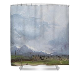 Grantsville Skies Shower Curtain