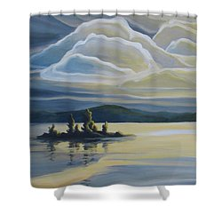 Grape Island Shower Curtain