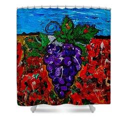 Grape Jazz Shower Curtain