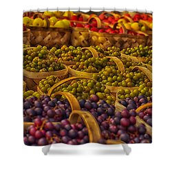 Grapes Galore Shower Curtain