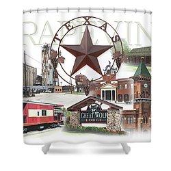 Grapevine Texas Shower Curtain