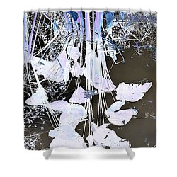 Graphic Reflection Shower Curtain