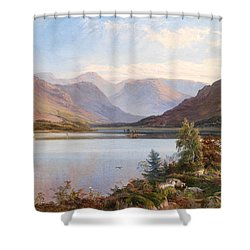 Grasmere Shower Curtain by Henry Moore