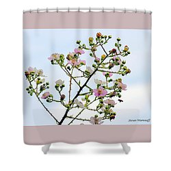Grasping For The Hands Of Heaven Shower Curtain