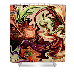 Grasping Iv Shower Curtain
