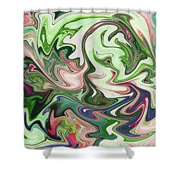 Grasping I Shower Curtain