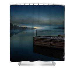 Grass Creek Sunrise 1 Shower Curtain