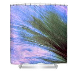 Grass In The Wind Shower Curtain