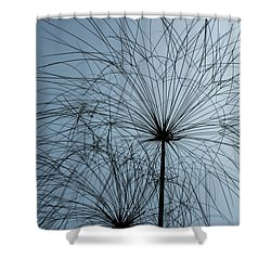 Grass Mandala Shower Curtain