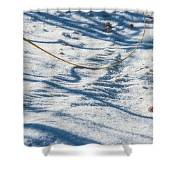 Grass Scapes In The Sand Shower Curtain
