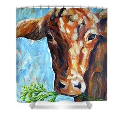 Grassfed Shower Curtain