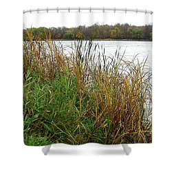Grassy Bank Shower Curtain