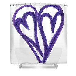 Grateful Heart Thoughtful Heart Shower Curtain