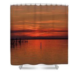 Grateful Shower Curtain by Roberta Byram