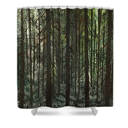 Grave Matters Shower Curtain