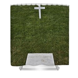 Grave Of Robert F Kennedy Shower Curtain