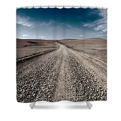 Gravel Dreams Shower Curtain
