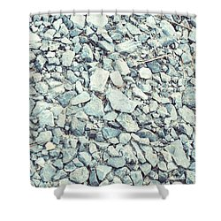 Gravel  Shower Curtain