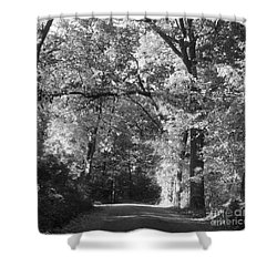 Graves Rd  Shower Curtain