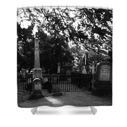 Graveyard 2 Shower Curtain
