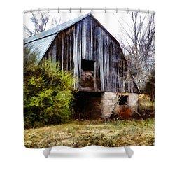 Gray Barn Shower Curtain