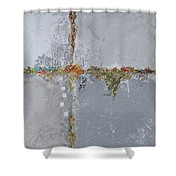 Gray Matters 10 Shower Curtain