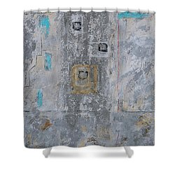 Gray Matters 11 Shower Curtain