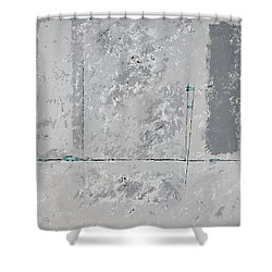 Gray Matters 2 Shower Curtain