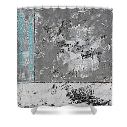 Gray Matters 5 Shower Curtain