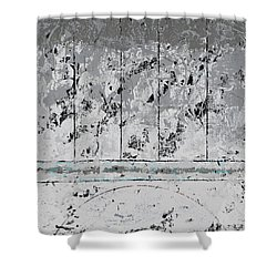 Gray Matters 6 Shower Curtain