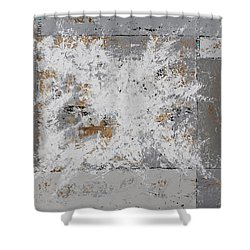 Gray Matters 8 Shower Curtain