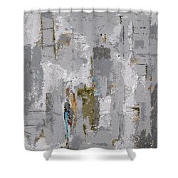 Gray Matters 9 Shower Curtain