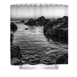 Gray Waters Shower Curtain