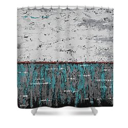 Gray Matters 1 Shower Curtain