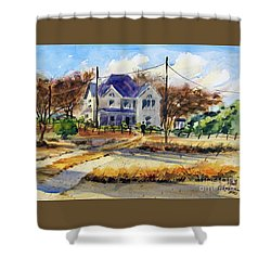Grayson County Farmhouse Shower Curtain