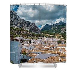 Grazalema Shower Curtain by Piet Scholten