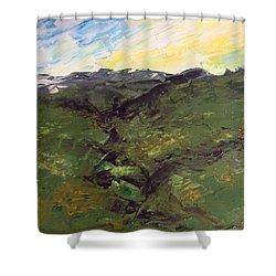 Grazing Hills Shower Curtain