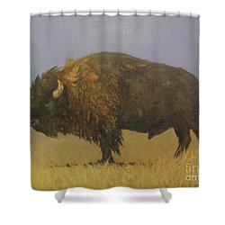 Great American Bison Shower Curtain