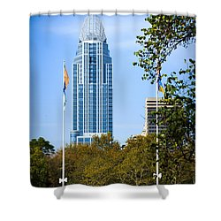 Great American Tower Shower Curtain by Keith Allen