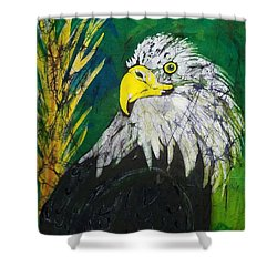 Great Bald Eagle Shower Curtain