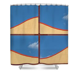 Great Curves -  Shower Curtain