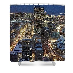 City Of Champions  Shower Curtain