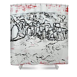 Great Falls Waterfall 201752 Shower Curtain by Alyse Radenovic