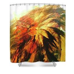 Great Grandfather Spirit Shower Curtain