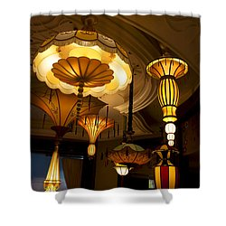 Great Lamps Shower Curtain